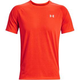 Under Armour Streaker Short Sleeve Shirt Men, rojo